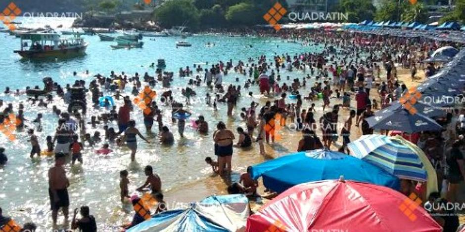 Reportan ocupación hotelera de 91 % en Acapulco
