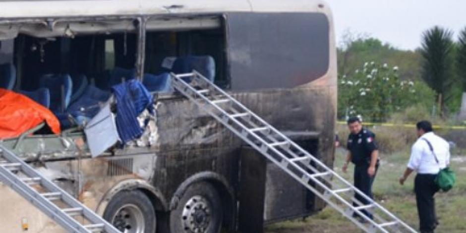 Mueren 4 personas en accidente de carrretera Zaragoza-Victoria