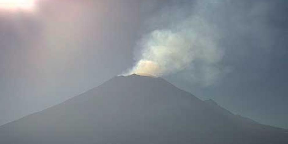 Cenapred pide a la población no acercarse al Popocatépetl