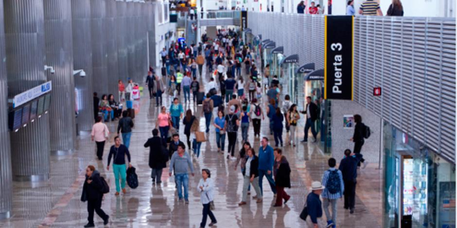 Aumenta AICM tarifa de uso a pasajeros nacionales y extranjeros