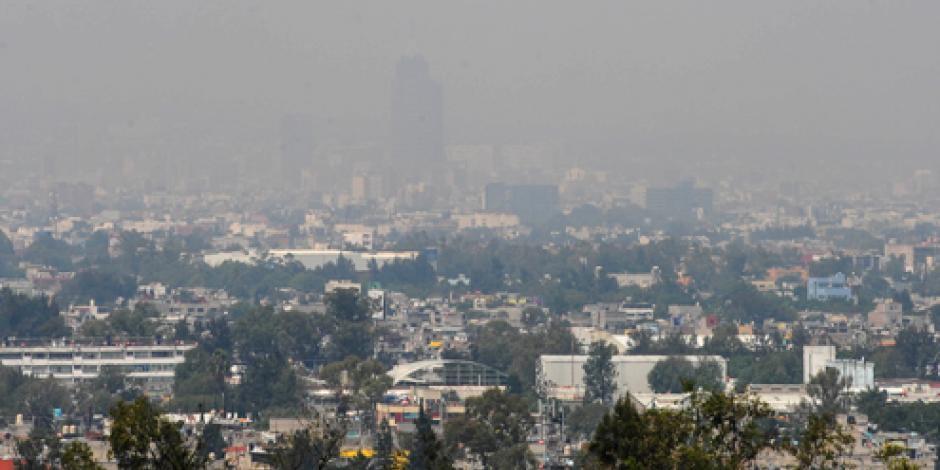 Reportan mala calidad del aire en 9 delegaciones