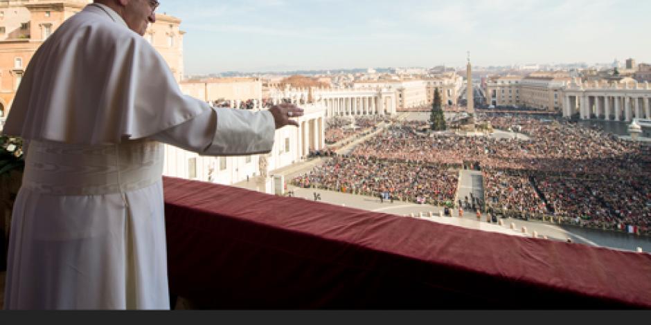 Paz, tema central del Papa en Navidad
