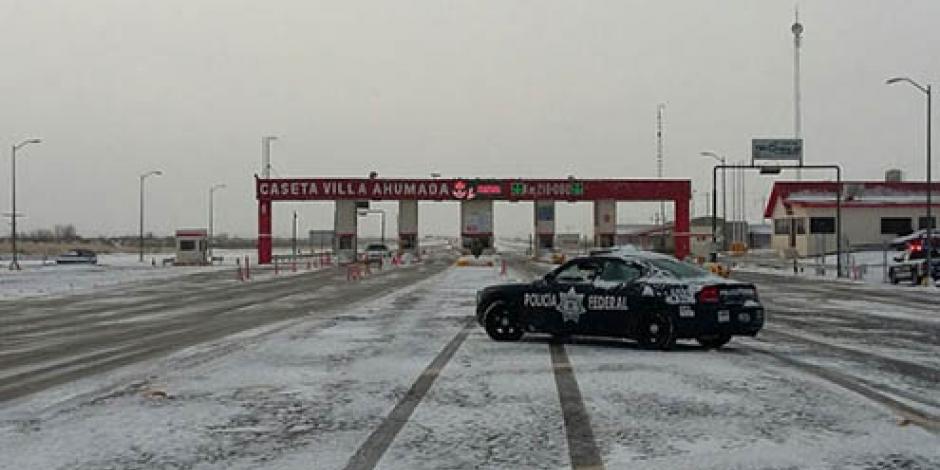 Continuará potencial de nevadas en Chihuahua y Coahuila