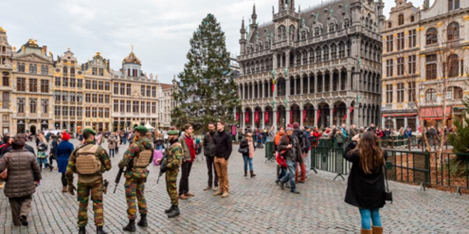 Bruselas cancela fiesta de  Año Nuevo por posible atentado