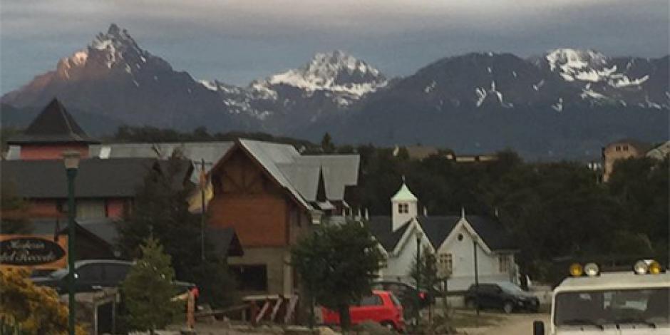 Ushuaia, el destino más caro de Argentina al que viajó Noroña