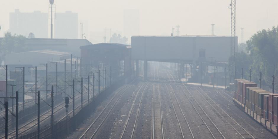Mañana de Navidad con mala calidad del aire en el Valle de México