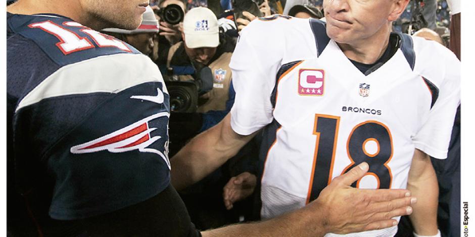 Tom Brady muestra  total apoyo a Manning