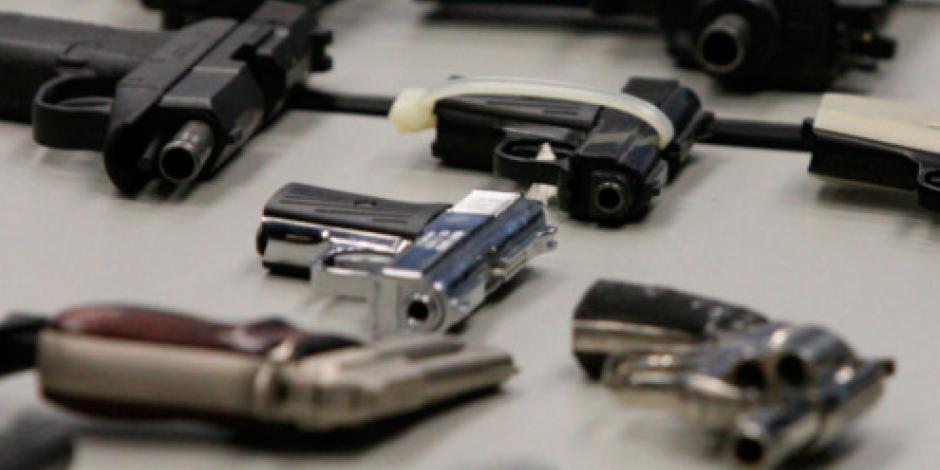 México avanza contra tráfico y acopio de armas ilegales