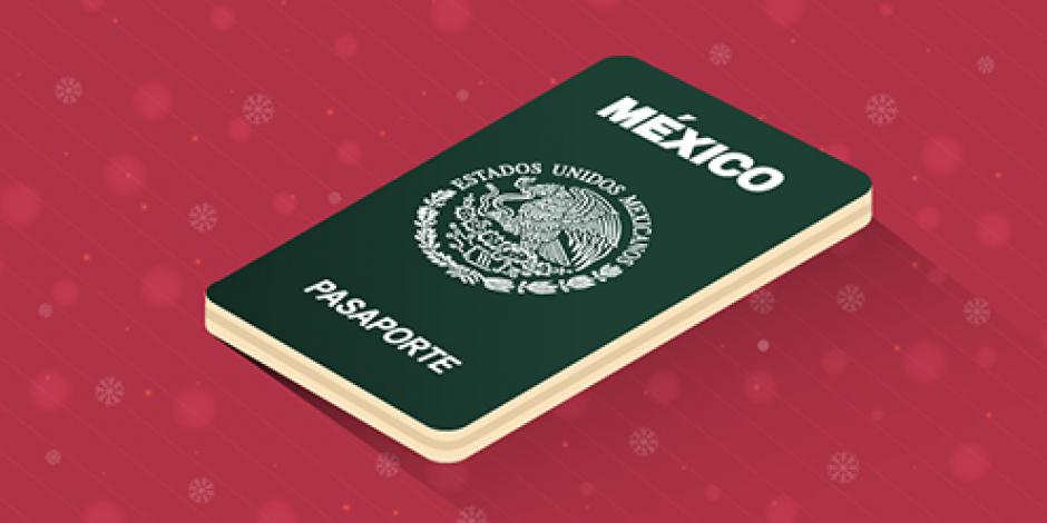 Conoce dónde tramitar tu pasaporte en periodo decembrino