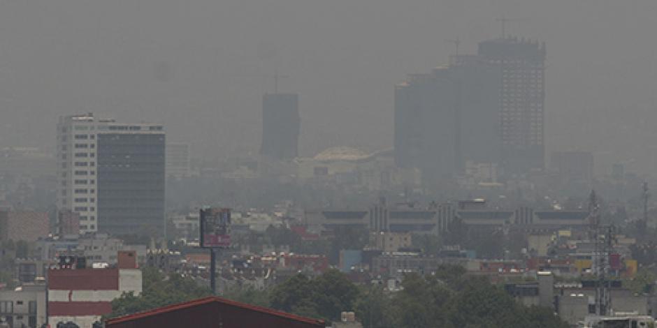Alcanza contaminación en el Valle de México 134 puntos Imeca