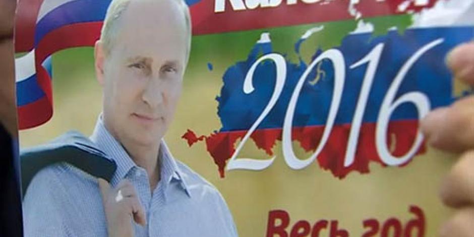 Comparte el 2016 con el presidente ruso Vladimir Putin