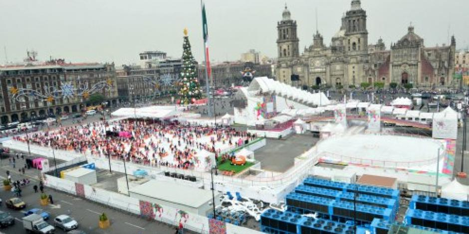 Disponen de 5 mil policías para festejos en zócalo capitalino