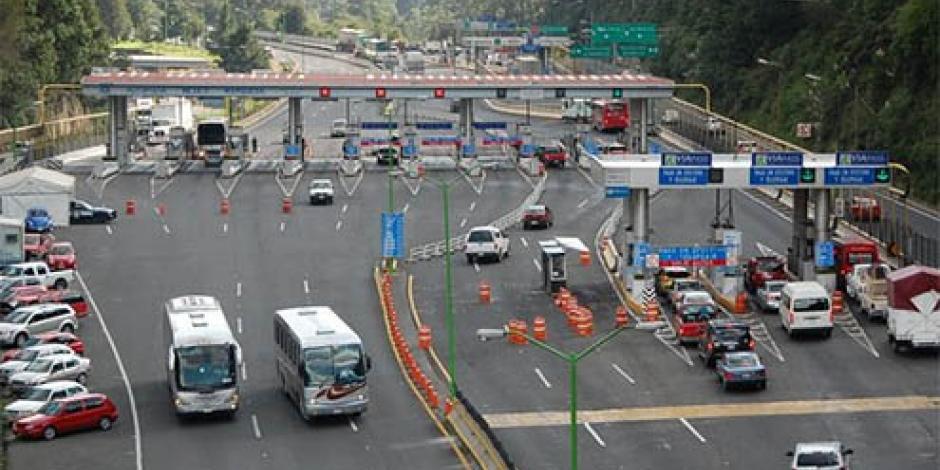 Hoy inicia el desvío en la México-Toluca