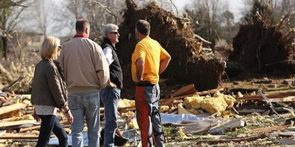 Mueren 11 personas por tormentas en el sur de EU
