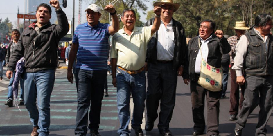 CNTE descarta marchas en lo que resta del año
