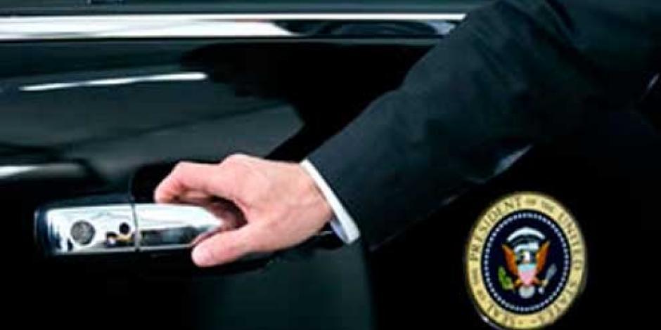 Roban arma de agente de seguridad de Obama