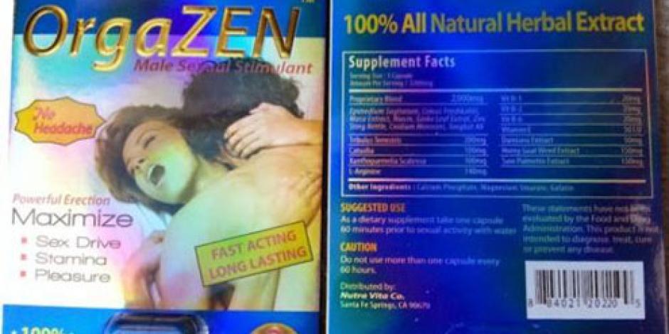 Pide Cofepris evitar consumo de 55 productos para elevar potencia sexual