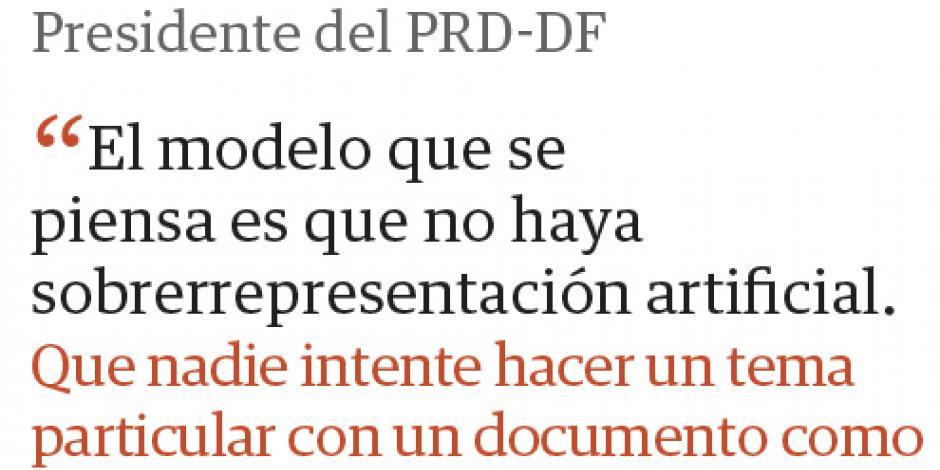 """Rechaza  el PRD-DF asamblea """"inflada"""""""