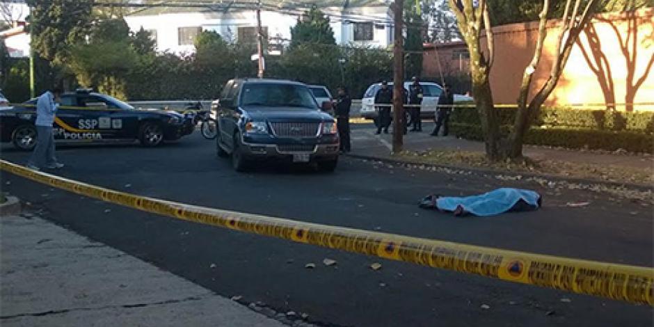 Muere mujer al ser atropellada en Lomas de Chapultepec