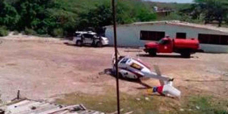 Cae helicóptero de la Guardia venezolana en Colombia