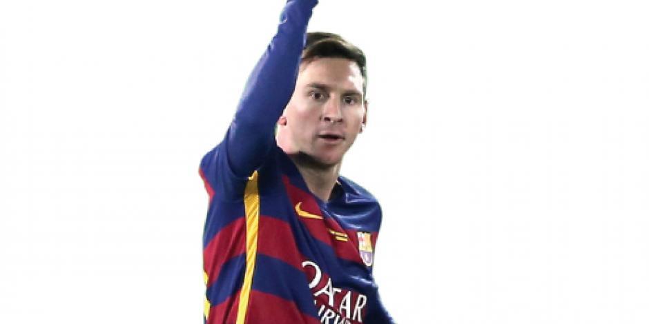 Messi, en su partido oficial    500 con la playera del Barça