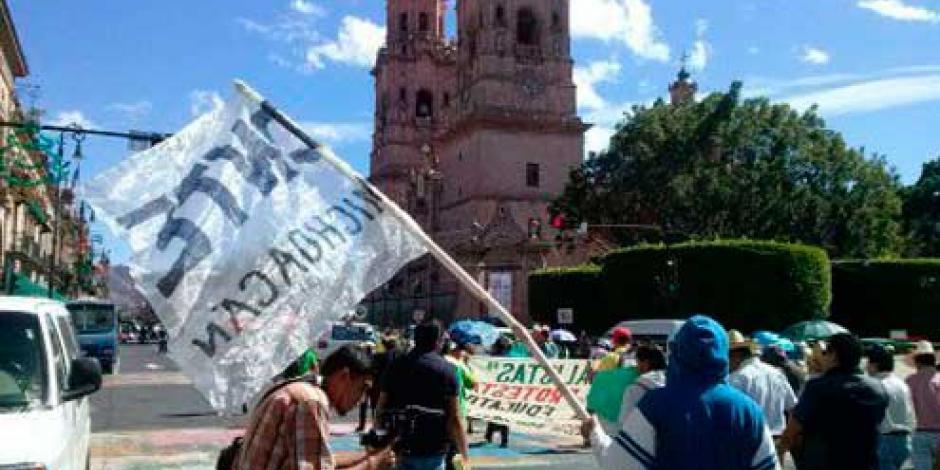Pese a órdenes de aprehensión, CNTE anuncia movilizaciones