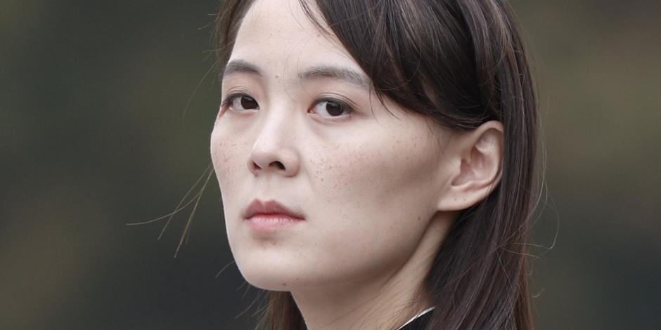 Kim Yo Jong, hermana del líder norcoreano Kim Jong Un en una imagen de archivo.