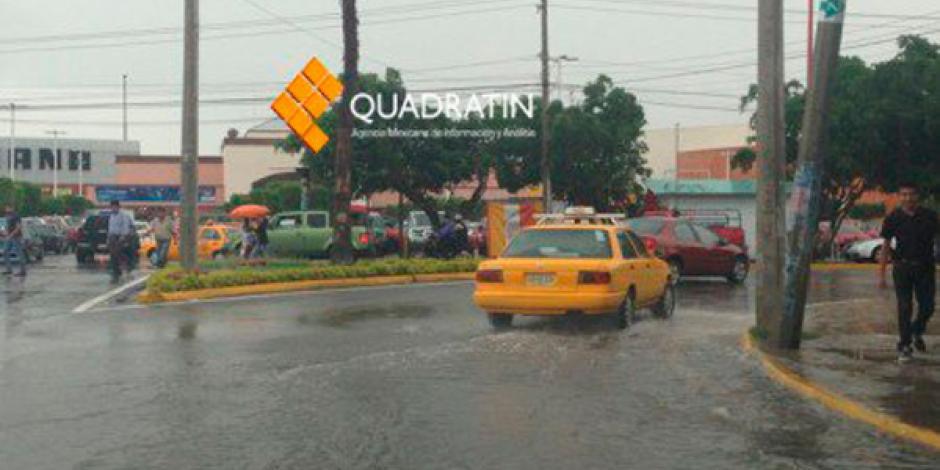 Se forma depresión tropical frente a la costa oeste de México