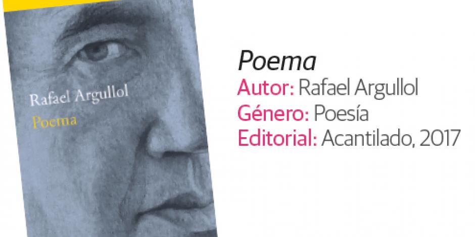 <em>Poema,</em> de Rafael Argullol