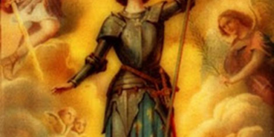 Juana de Arco: bruja a la hoguera