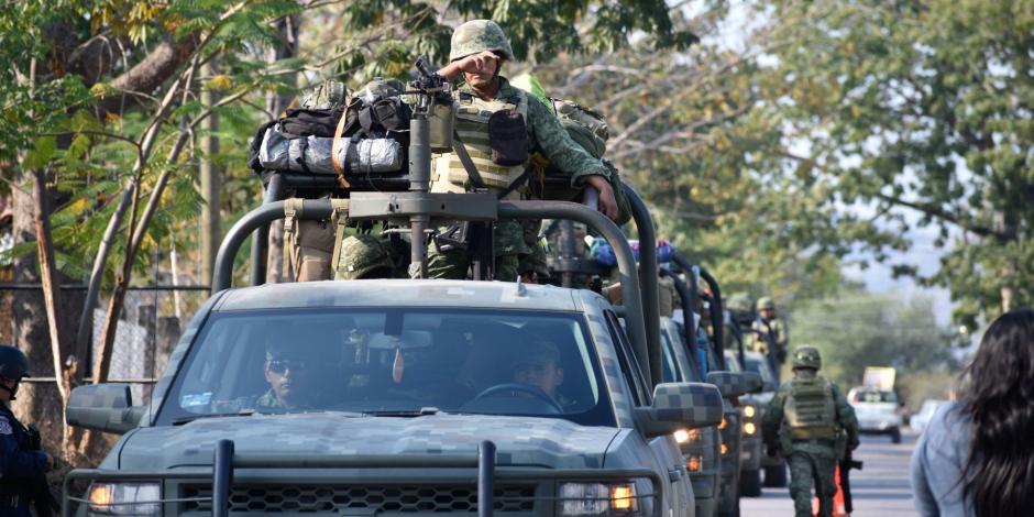 Ejército en las calles