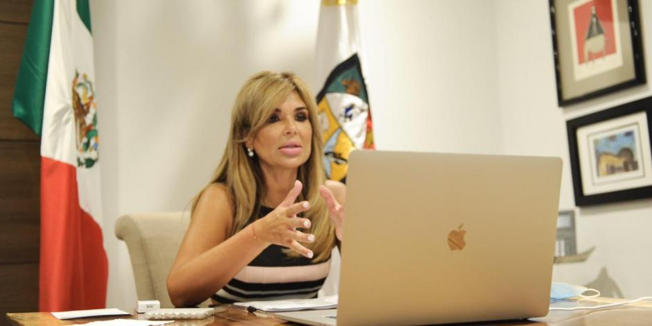 Claudia Pavlovich, gobernadora de Sonora