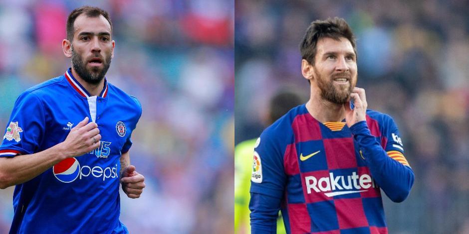 Chelito y Messi