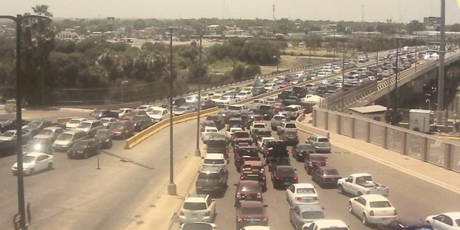 Cruce fronterizo Tamaulipas - Texas