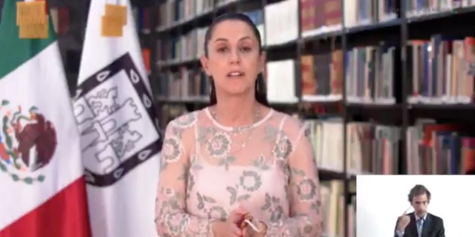 Claudia Sheinbaum, jefa de Gobierno