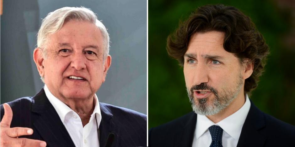 AMLO y Trudeau