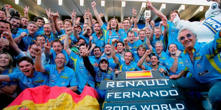 Fernando Alonso regresa a la Fórmula 1 para correr con Renault