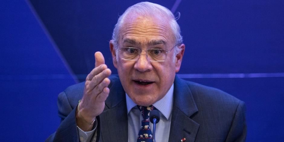José Ángel Gurría-OCDE-