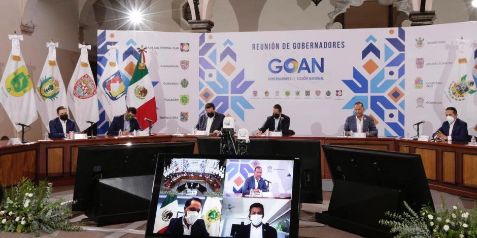 Conferencia de prensa del Goan