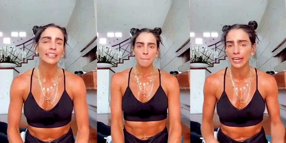 Bárbara de Regil se despide de sus rutinas de ejercicio en Instagram