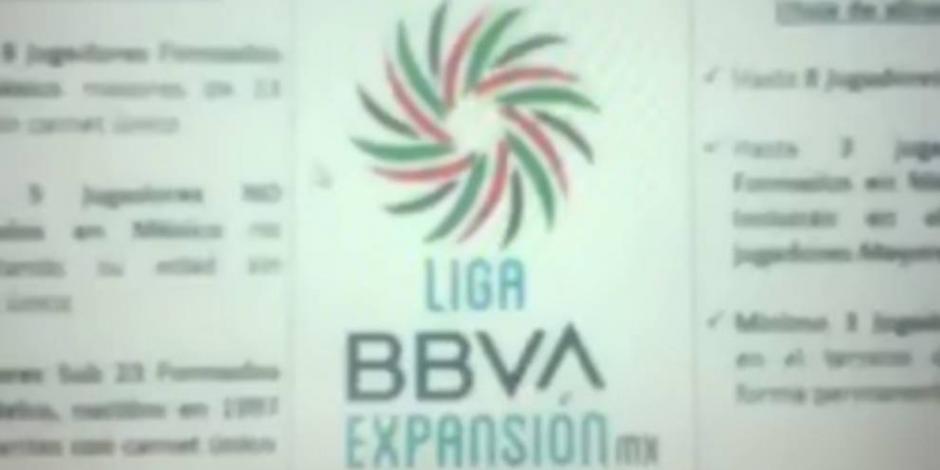 Filtran el logotipo de la Liga de Expansión