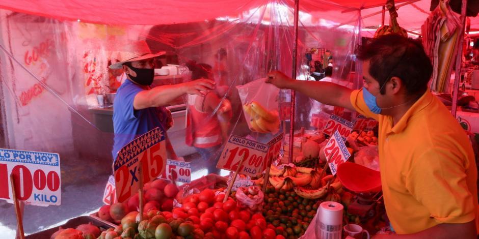 Comerciantes de tianguis de la alcaldía Iztapalapa