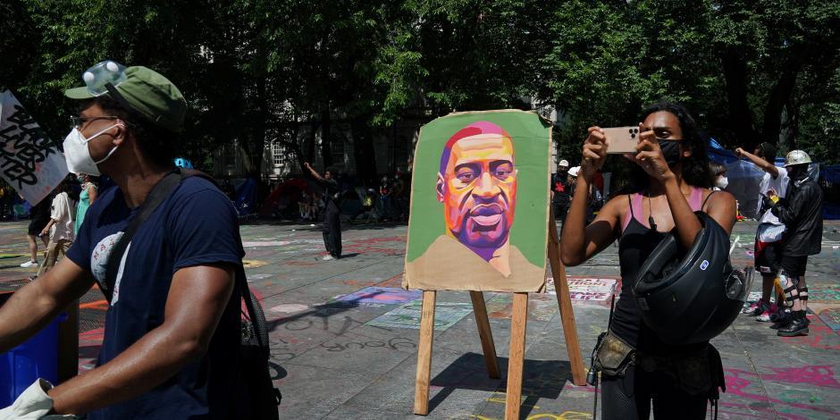 George Floyd, protestas EU, black lives matter