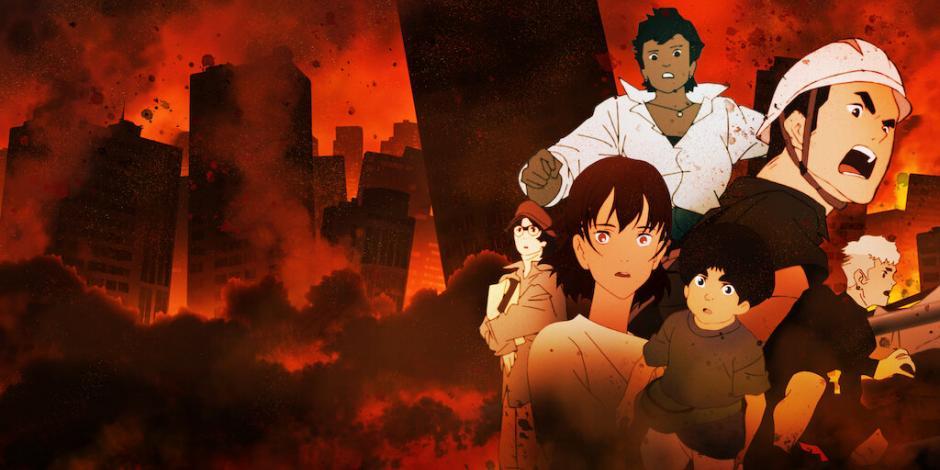 La serie muestra al país nipón en la catástrofe.