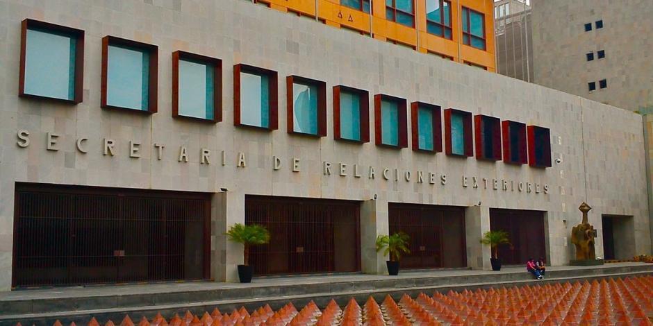 edificio-de-la-secretaria-de-relaciones-exteriores-twitter-sre-mx-archivo