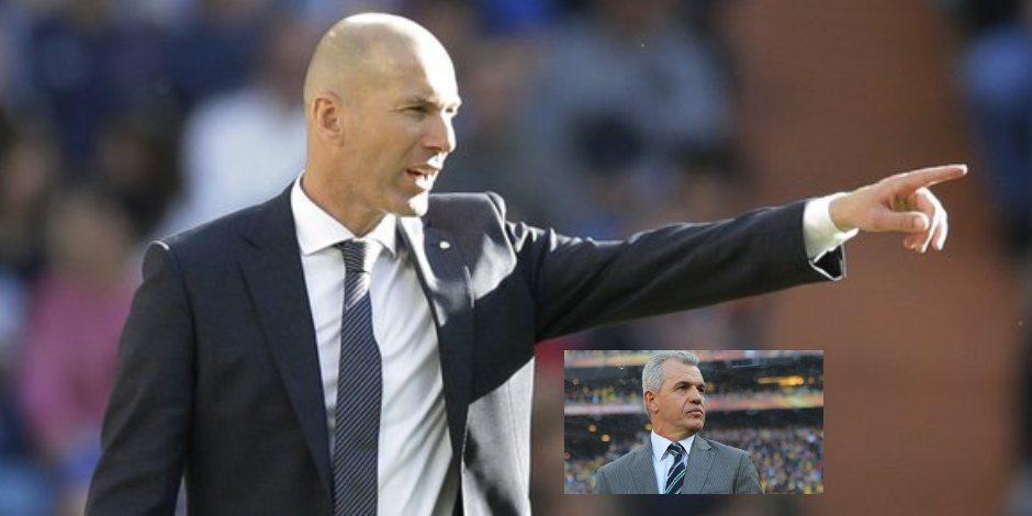 Zinedine Zidane halaga a Javier Aguirre_ _es un gran entrenador_