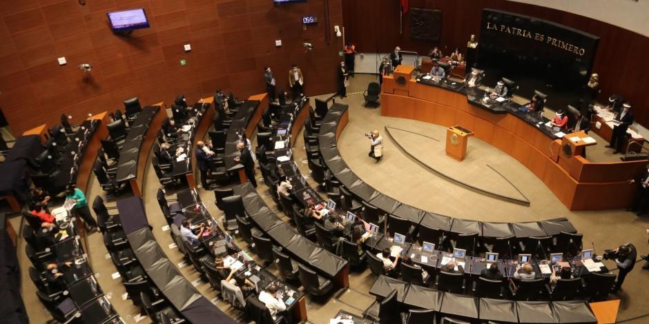 Mesa Directiva-Senado-Morena-
