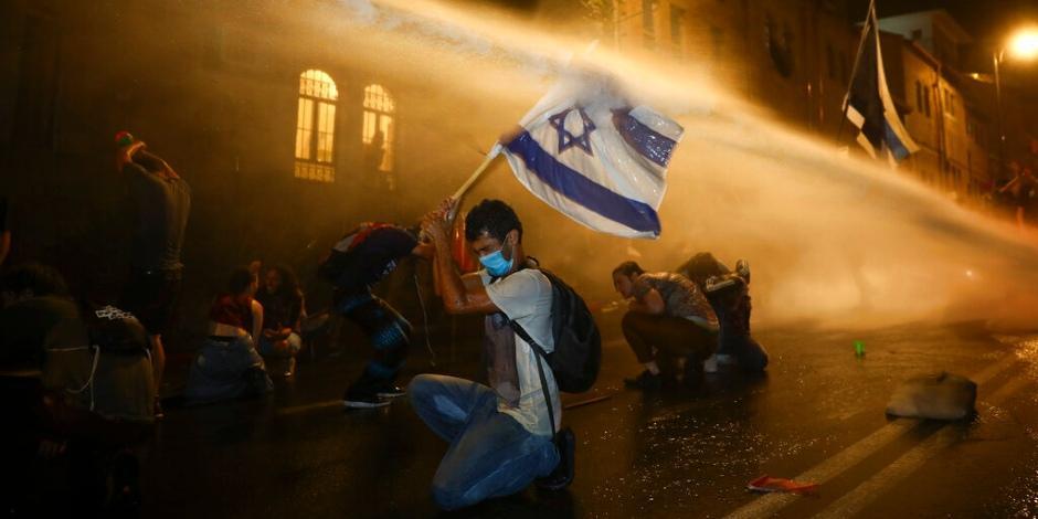 Israel-COVID-19-protestas