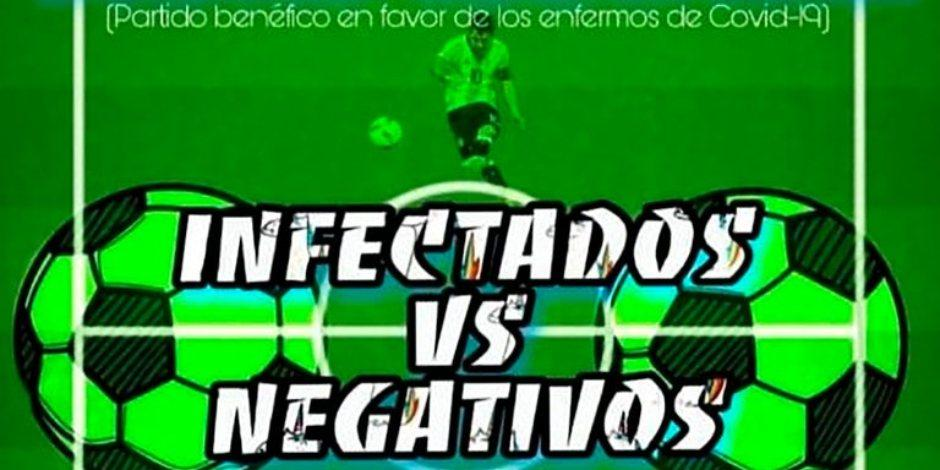 Convocan a partido de futbol entre infectados y negativos de COVID-19