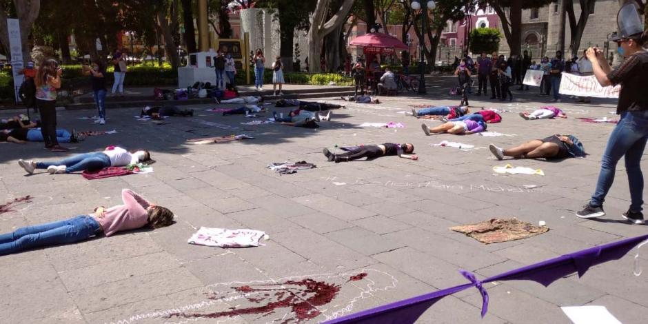 Feminicidios Puebla